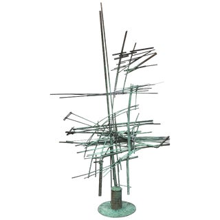 Abstract Solid Bronze Sculpture by Tom Hardy For Sale