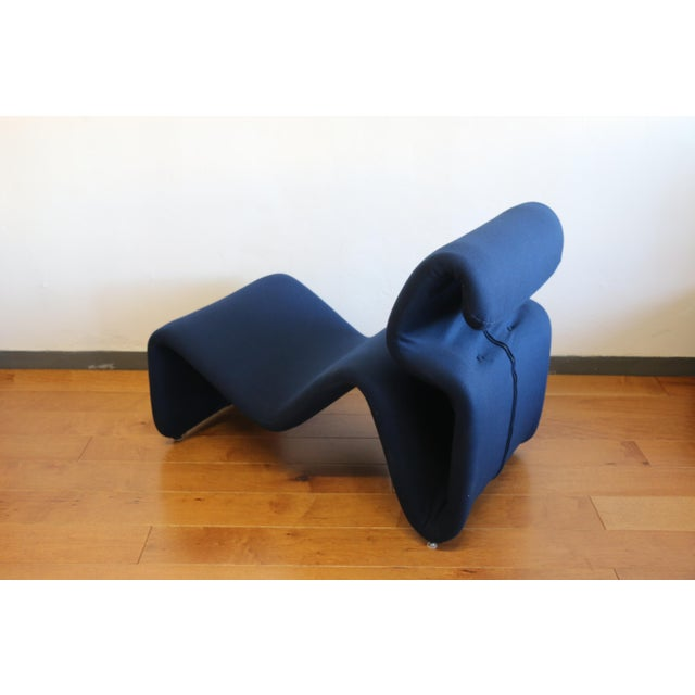 Ribbon Lounge Chair and Ottoman by Oliver Mourgue For Sale - Image 12 of 12