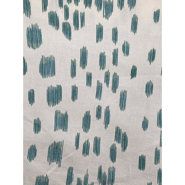 BRUNSCHWIG & FILS LES TOUCHES AQUA FABRIC 2 yards increments Collection: LE JARDIN CHINOIS Brunschwig & Fils LES TOUCHES...