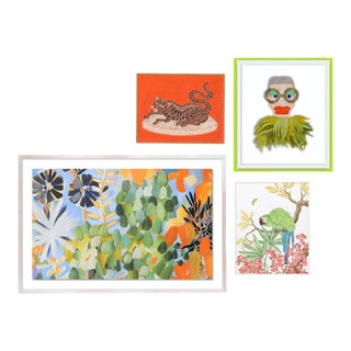 Bali Gallery Wall, Set of 4 For Sale