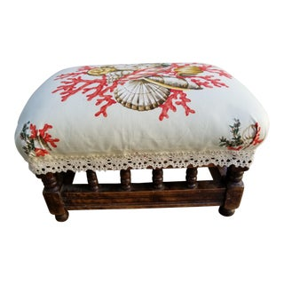 Scalamandre French Footstool