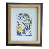 Image of Abstract Face Painting For Sale