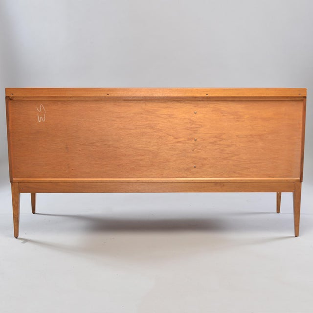 Mid-Century English Walnut Sideboard For Sale - Image 9 of 13