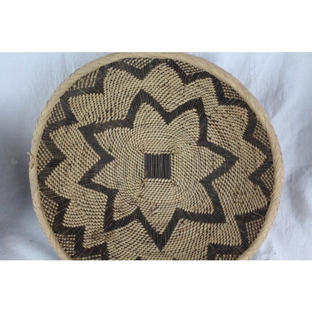 African Ghanian Basket For Sale - Image 3 of 9