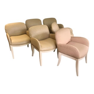 Milo Baughman for Thayer Coggin Arm Chairs - Set of 6 For Sale