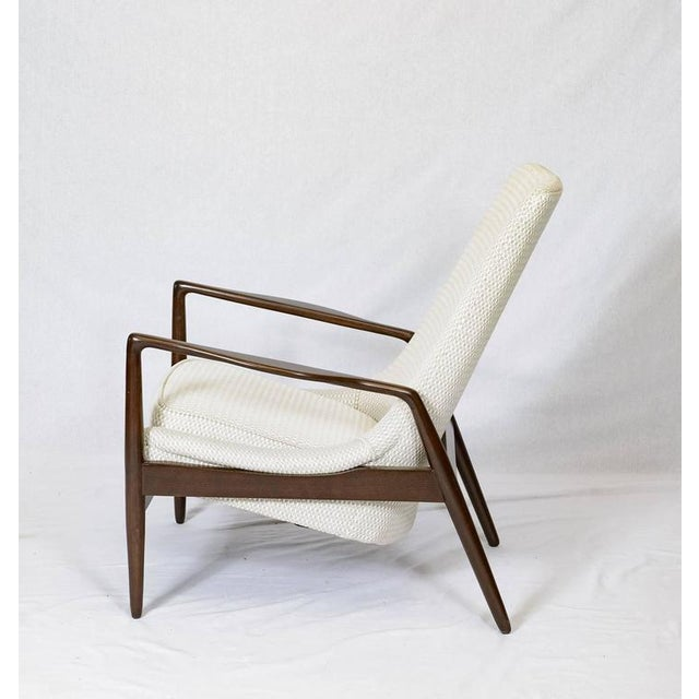 Danish Lounge Chair For Sale - Image 4 of 9