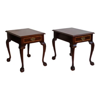 Councill End Tables From Waldorf Astoria - a Pair For Sale