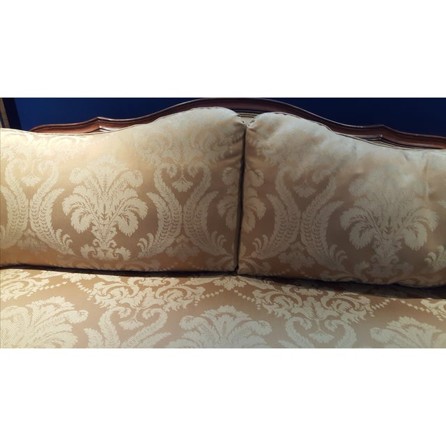 Ethan Allen Evette Settee - Image 7 of 7