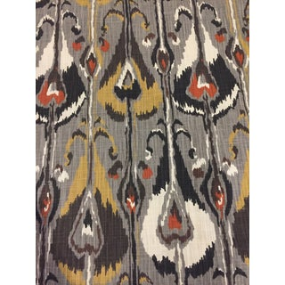 Robert Allen Gray Fabric For Sale