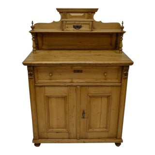 Late 19th Century Pine Chiffonier For Sale