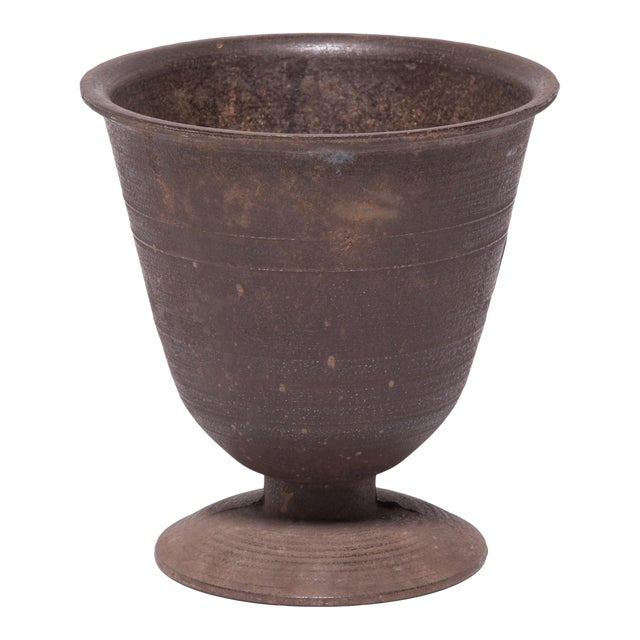 Image of Early 20th Century Cast Iron Apothecary Mortar