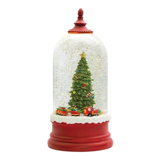 Kenneth Ludwig Chicago Round Christmas Tree Snow Globe For Sale