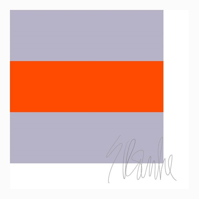 """Not Yet Made - Made To Order Four Moods Eight Colors Fine Art Print 15"""" X 36 1/2"""" by Liz Roache For Sale - Image 5 of 6"""