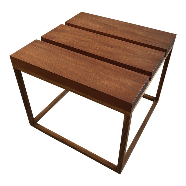 Robert Bristow 3 Block Table For Sale