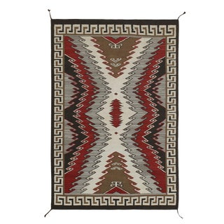Navajo Style American Rug - 6' X 9' For Sale