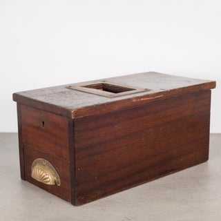 Antique Mahogany and Brass Cash Till C. 1890 Preview