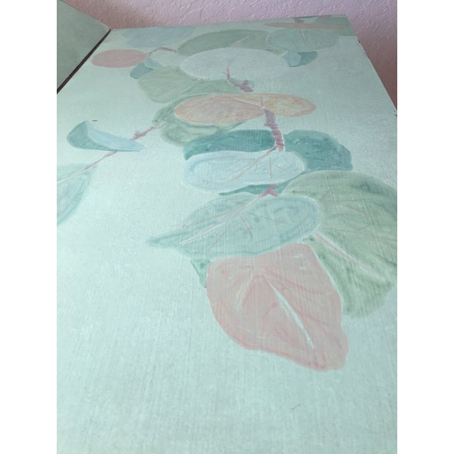Hand Painted Folding Screen - Image 3 of 7