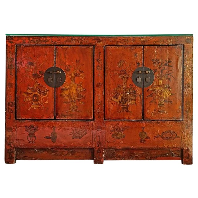 Chinese Storage Cabinet - Image 1 of 6