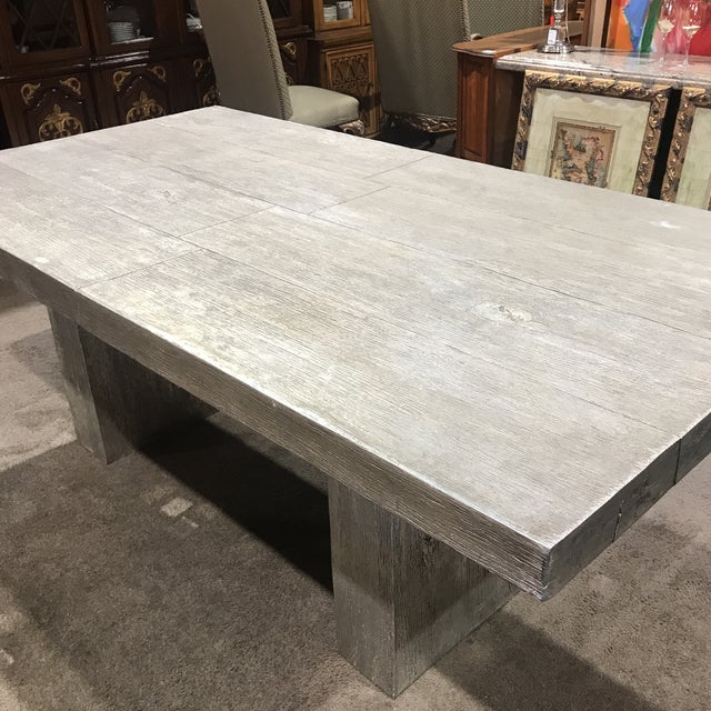 Gray Z Gallerie Timber Dining Table For Image 8 Of 10