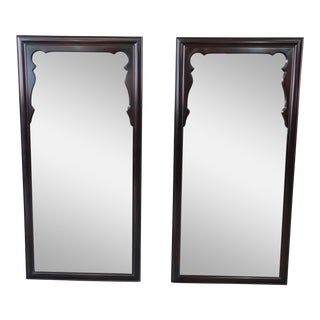 Mid-Century Chinoiserie Mirrors - a Pair For Sale