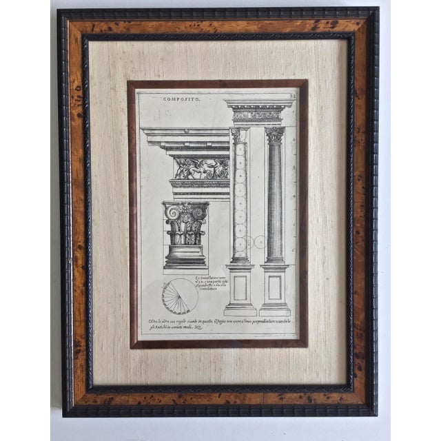 Line drawing in the great Beaux-Arts tradition. Measuring and drawing classical architectural elements was the cornerstone...