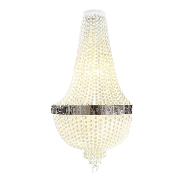 Troy Ping-Pong Chandelier by Zia Priven For Sale