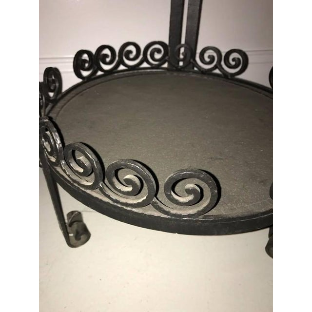French Art Deco Side Table or Small Accent Table - Image 5 of 7