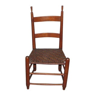 Antique American Cherry Chair For Sale