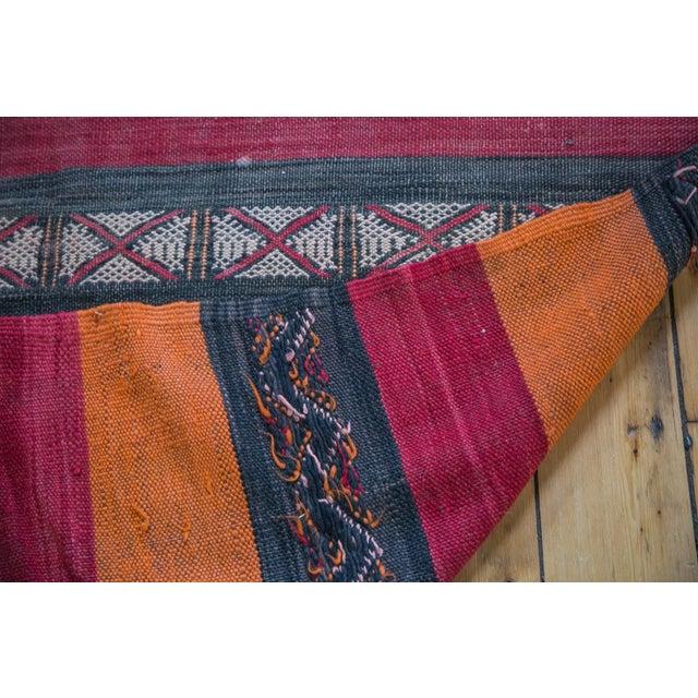"""Textile Vintage Kilim Rug Runner - 4'1"""" X 10'4"""" For Sale - Image 7 of 8"""