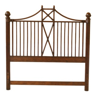 Queen Size Bamboo Island Style Bed Headboard For Sale