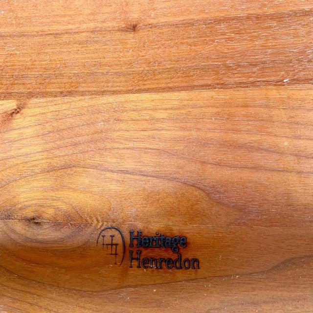 Mid Century Modern Heritage Henredon Walnut Chest For Sale - Image 10 of 11