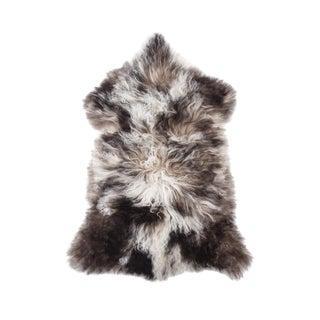 "Hand-Tanned Sheepskin Pelt Rug - 2'1""x3'0"" For Sale"