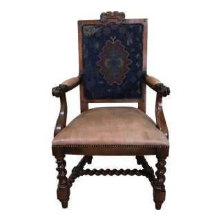 1990s Traditional Ralph Lauren for Henredon /2 Dining Arm Chairs & 6 Side Chairs For Sale