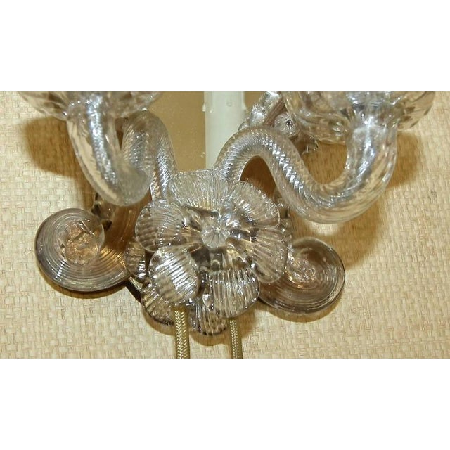 1920s Venetian Italian Mirrored Wall Sconces - a Pair For Sale In Palm Springs - Image 6 of 12