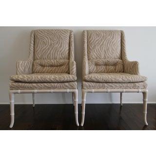 1950s Vintage Robsjohn Gibbings High Back Chairs- Set of 6 Preview
