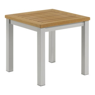 Outdoor End Table, Natural For Sale