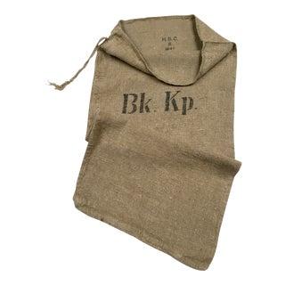 Vintage World War II German/Swiss Grain Sack