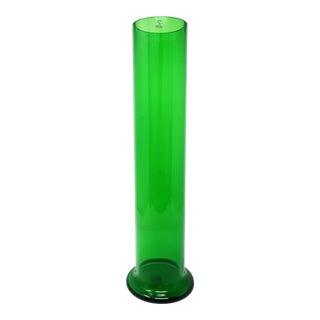 Jasper Morrison for Cappellini Large Green Glass Vase For Sale