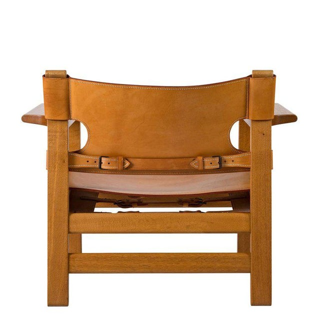 "Børge Mogensen ""Spanish"" Chair - Image 5 of 10"