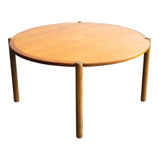 1960s Danish Modern Hans Wegner Reversible Top Coffee Table for Johannes Hansen For Sale