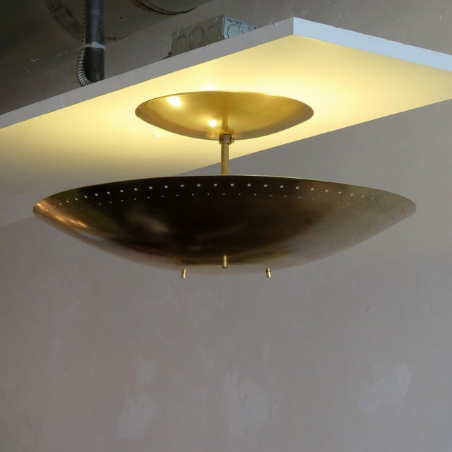 "Gallery L7 ""Utah"" Ceiling Flush Mount For Sale - Image 9 of 11"