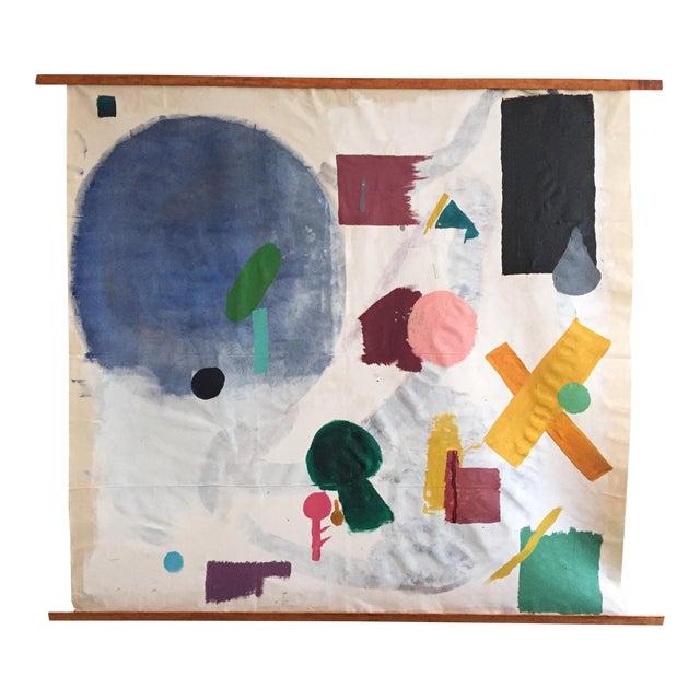 """Olivia Gossett """"Shapes I"""" Painting For Sale"""
