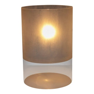 "Plexiglass Prototype ""Fatua"" Table Lamp by Guido Rosati for Fontana Arte For Sale"