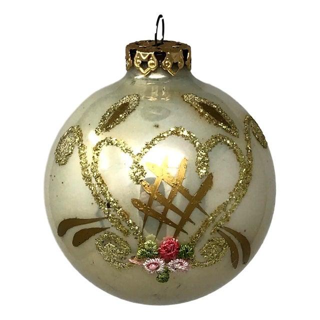 Vintage Italian & Polish Christmas Holiday Glass Ornaments - Collection of 24 For Sale - Image 10 of 12