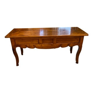 Antique Louis XV French Fruitwood Writing Desk For Sale