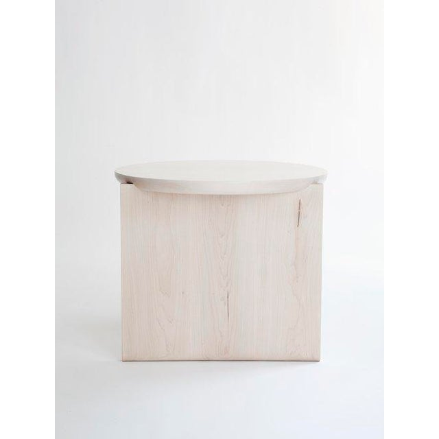 Modern Egg Collective XL Wu Side Table For Sale - Image 3 of 7