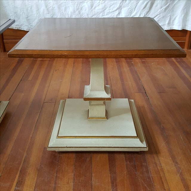 Kindel French Provincial Side/Bunching Tables-Pair - Image 4 of 6