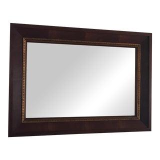 Ethan Allen Mahogany Framed Mirror