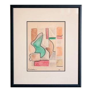 slant select -- Untitled. Nicholson (Royal Artist UK) For Sale