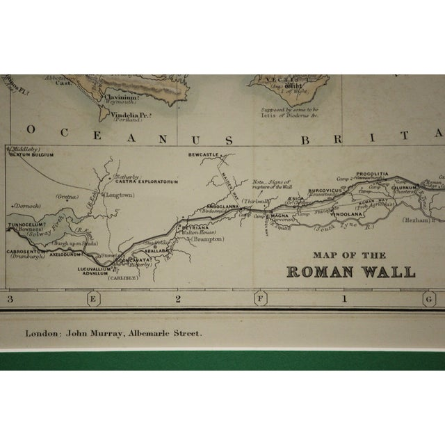 Green Britannia Map by Edw. Weller For Sale - Image 8 of 8